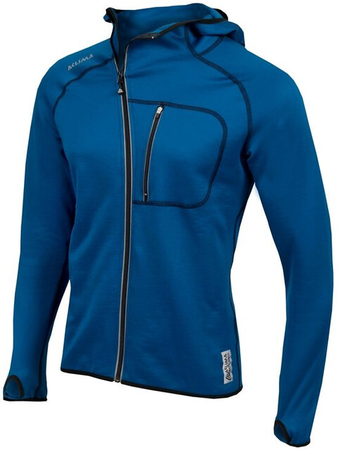Aclima M's Woolshell Jacket with Hood Blue Sapphire
